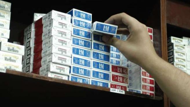 Cajetillas de tabaco. (ARCHIVO)