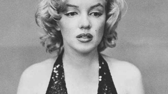 """Richard Avenon retrata a una Marilyn """"perdida"""" (Christie's)."""