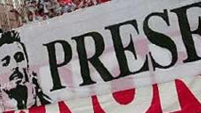 Homenaje al futbolista del Sevilla Antonio Puerta (EFE).