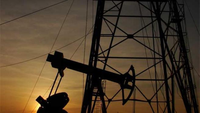 Un pozo de petróleo en Irak.