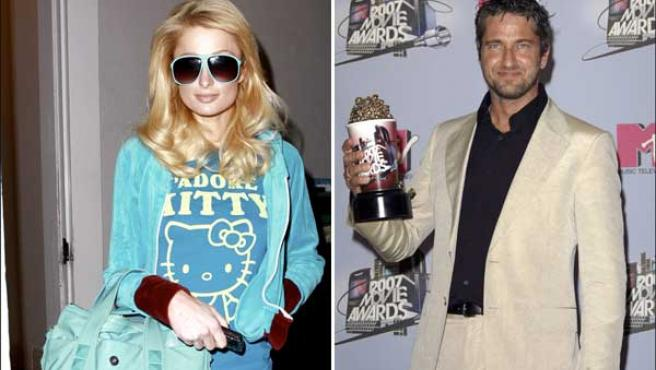 Paris Hilton y Butler, en unas fotos de archivo (KORPA).