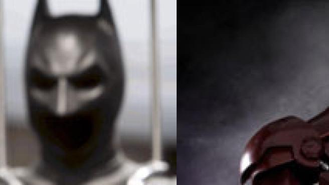 Batman (El caballero oscuro) y Iron man.