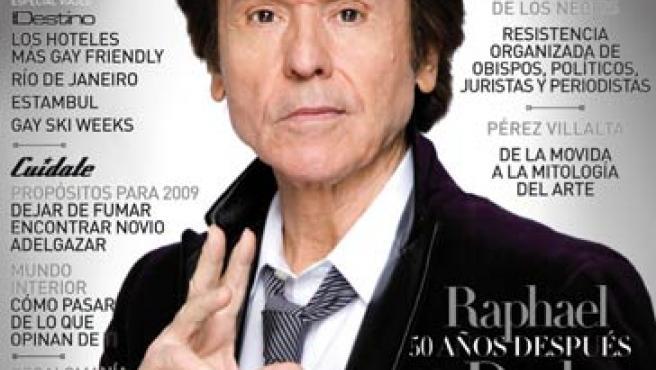 El cantante, en la portada de Zero.