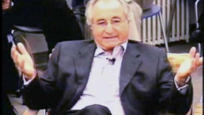 Imagen de Bernard Madoff en un vídeo de octubre de 2007 (REUTERS)