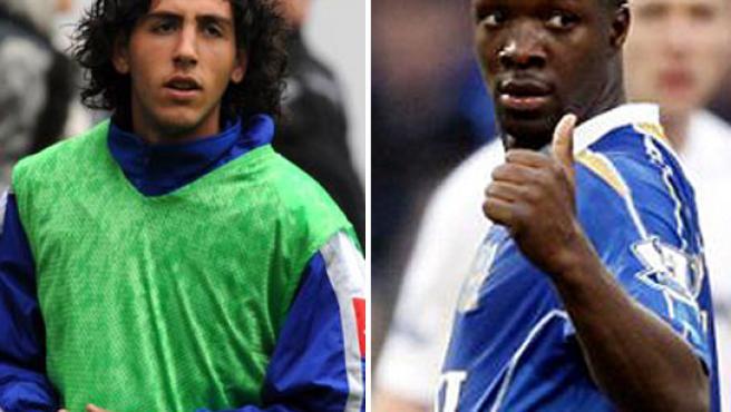Una imagen de Lassana Diarra y Dani Parejo.