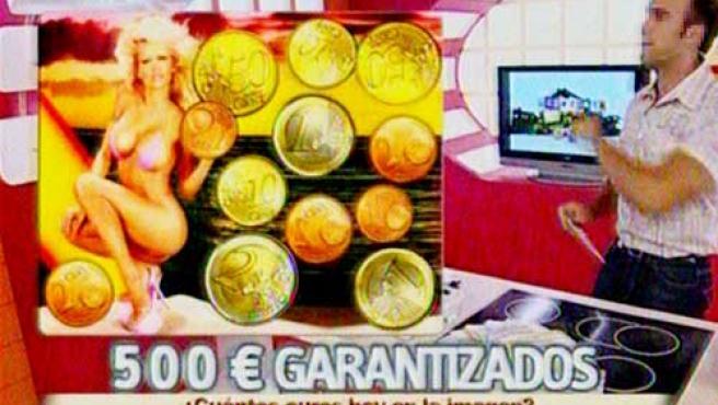 Una imagen de un concurso televisivo.