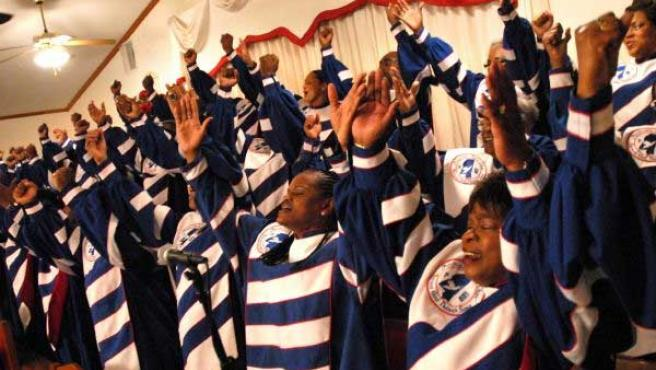 The Mississippi Mass Choir.ARCHIVO/20MINUTOS.