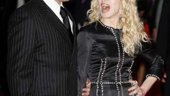 Guy Ritchie y Madonna cuando aún eran matrimonio (KORPA).