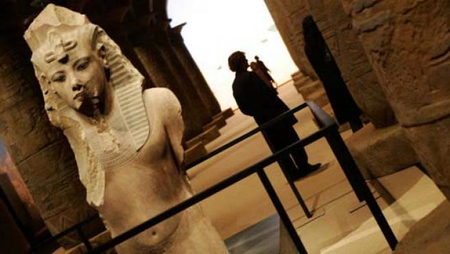 Exposición sobre Egipto celebrada recientemente en Madrid.