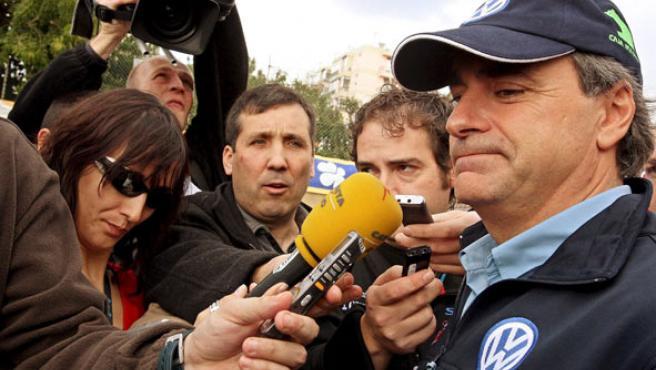 El piloto español Carlos Sainz, en una imagen de archivo. (TIAGO PETINGA / EFE)