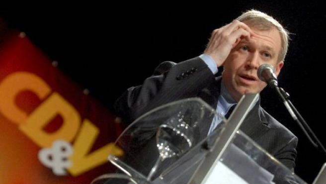 El primer ministro belga, Yves Leterme, en un acto de su partido. (Foto: EFE)