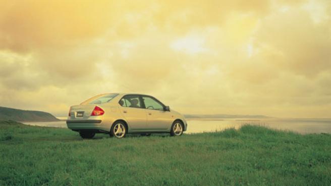 El Prius es el coche ecológico de la marca. Foto: TOYOTA