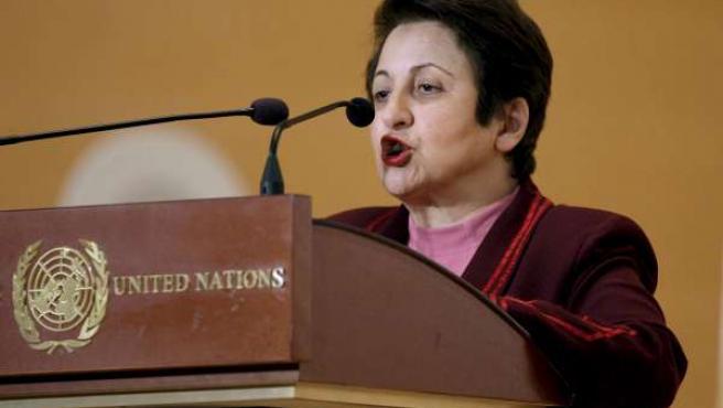 La Nobel de la Paz iraní Shirin Ebadí, en una foto de archivo.