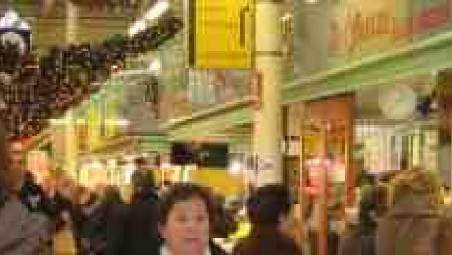 Una imagen del mercado de El Fontán