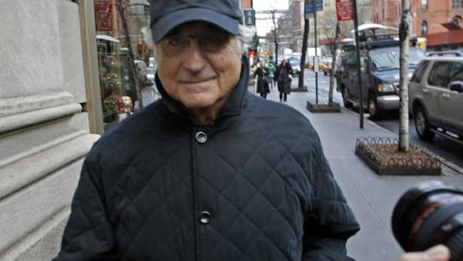 Bernard Madoff en Manhattan (Nueva York). (Foto: J. DECROW / AP)