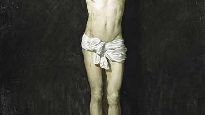 'Cristo Crucificado' pintado por Velázquez.