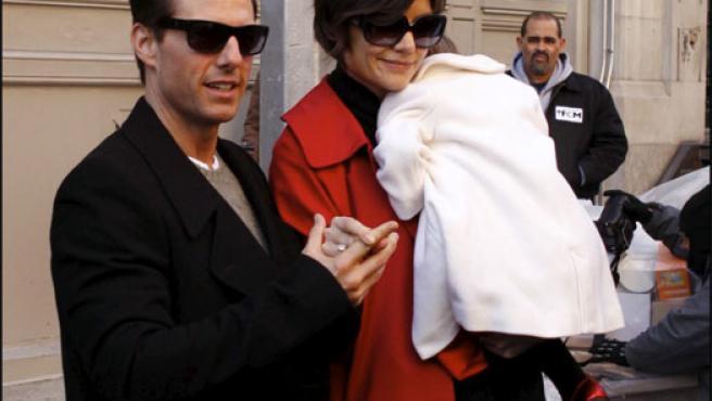 Tom Cruise y Katie Holmes, en una foto de archivo (KORPA).