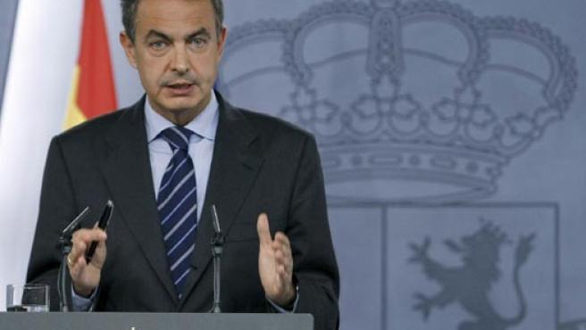 El presidente del Gobierno, José Luis Rodriguez Zapatero. (EFE)