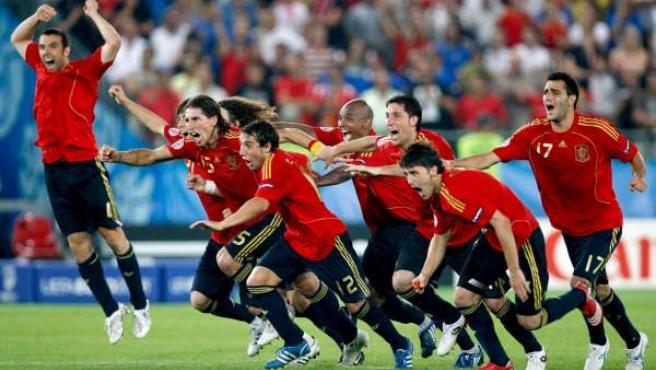 Los penaltis entre España e Italia en la Eurocopa, lo más visto en la historia de la televisión en España.