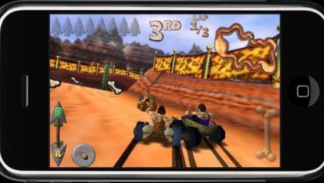 Imagen de un videojuego para Iphone.