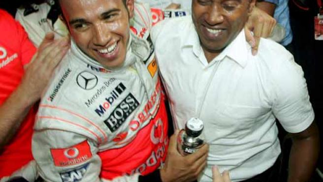 Lewis Hamilton se proclamó vencendor del Mundial.