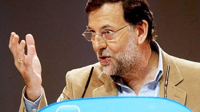 Mariano Rajoy, líder el PP.