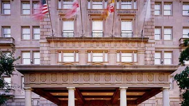 Hay-Adams Hotel, residencia temporal de los Obama.