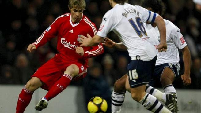 Fernando Torres, delantero del Liverpool, en una imagen de archivo.