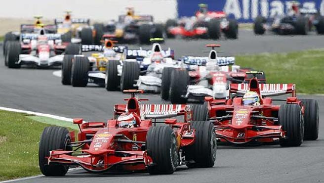 Imagen del pasado GP de Francia de Fórmula 1.