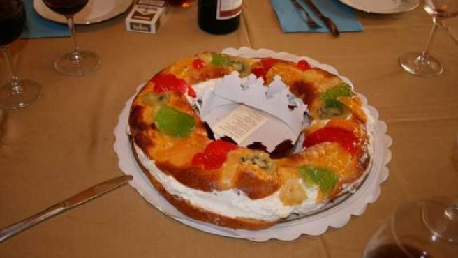 Roscón de Reyes. (FLICKR)