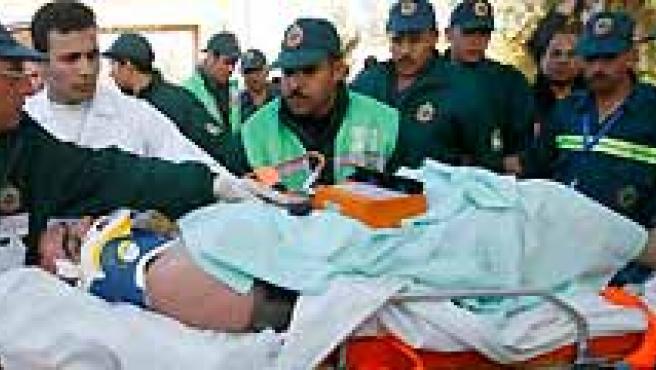 Los servicios de salud en Gaza no dan abasto para atender a todos los heridos de los ataques de Israel. (AGENCIAS).
