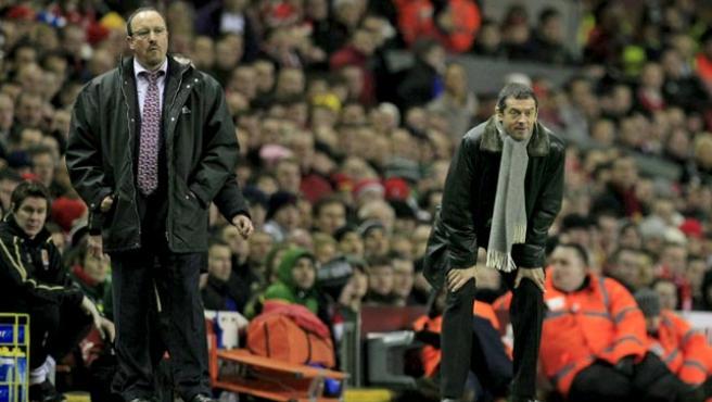Rafa Benítez, entrenador del Liverpool. (EFE)
