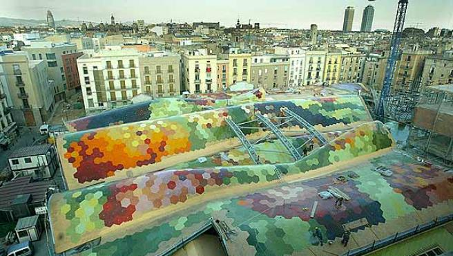 El Mercat de Santa Caterina de Barcelona.