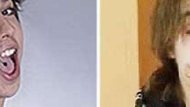 El concursante, a su entrada en la academia y en su vídeo de despedida.