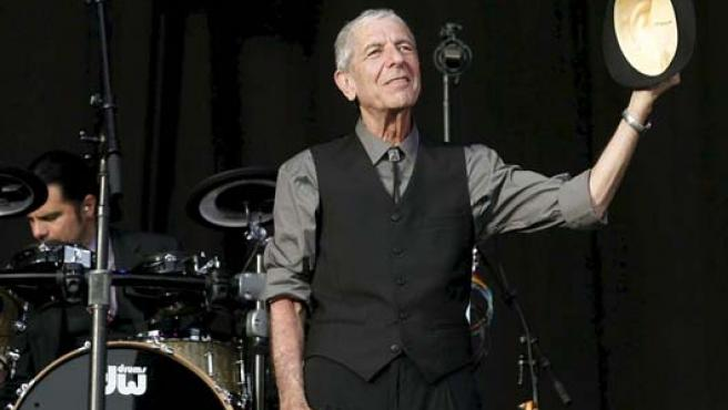 Leonard Cohen en la última edición del FIB. (EFE/Domenech Castelló)