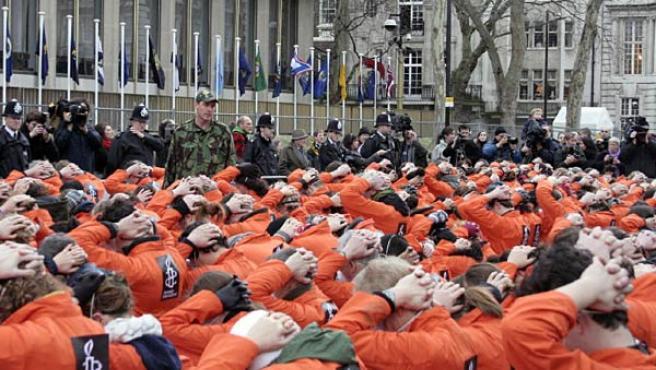 La cárcel de Guantánamo ha generado protestas por todo el mundo.