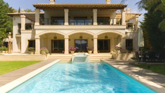 Imagen de la fachada de la casa más cara de España, según Idealista.com.