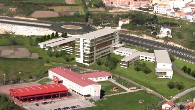 El edificio de Padre Rubinos en San Pedro de Visma costará 17 millones de euros.