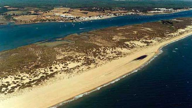 Playa de Nueva Umbría, en Lepe (Huelva).