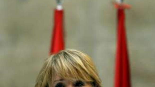 Esperanza Aguirre en una imagen de archivo.