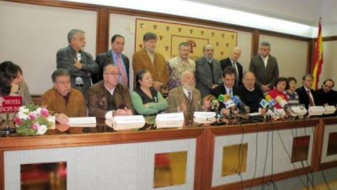 Presentación del manifiesto de apoyo al CCPC.