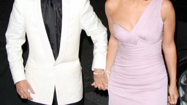 Jennifer Lopez y Marc Anthony, en una foto tomada el pasado mes de octubre (KORPA).