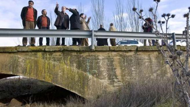 Castroverde de Campos (Zamora), proyecto de recuperación ambiental del antiguo cauce del río Valderaduey. (ICAL)