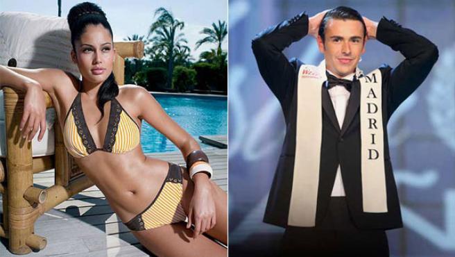 Patricia Yurena Rodríguez y José Manuel Montalvo: Miss y Míster España 2008
