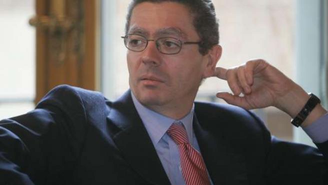 El alcalde de Madrid, Alberto Ruiz Gallardón.