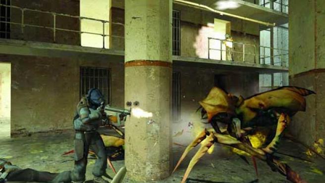 El experimento se realizó con el videojuego Half-Life 2.