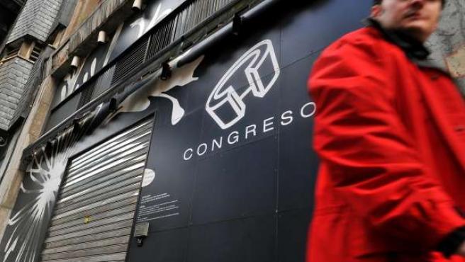 La sala Congreso está en la calle Uribitarte de Bilbao.