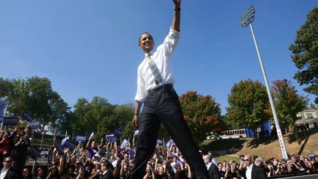 Obama, otro virus con su nombre aparece en las webs. (ARCHIVO)
