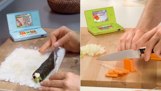 La Nintendo DS se cuela en la cocina.