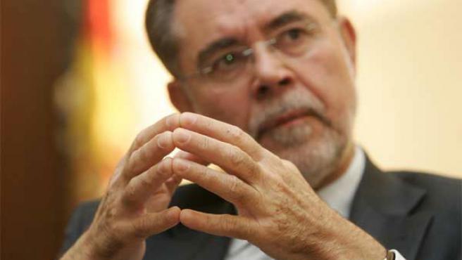 El ministro de Justicia, Mariano Fernández Bermejo, en una imagen de archivo (EFE)